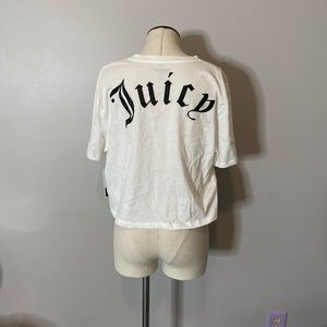 UO x Juicy Couture Cropped Short Sleeve Tee T